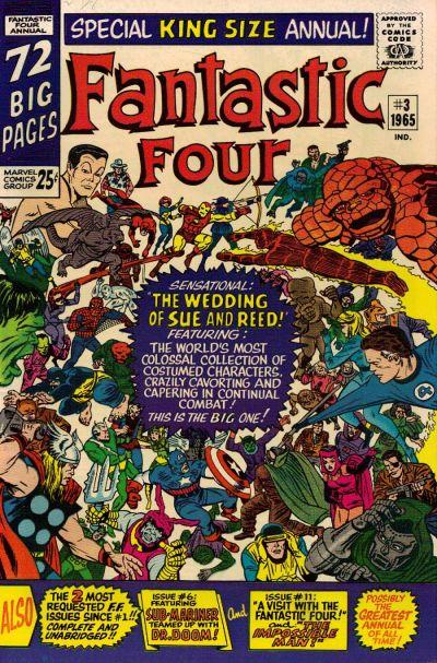 Fantastic Four Annual # 3