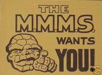 M.M.M.S. sticker