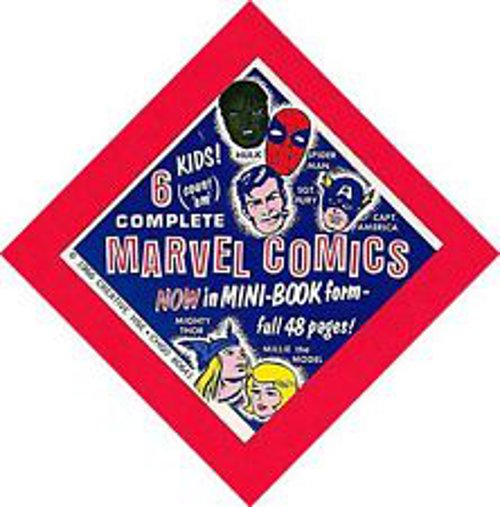 Marvel mini book header