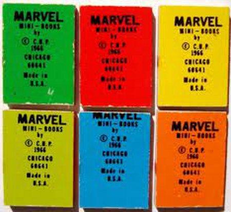 Marvel mini book backs