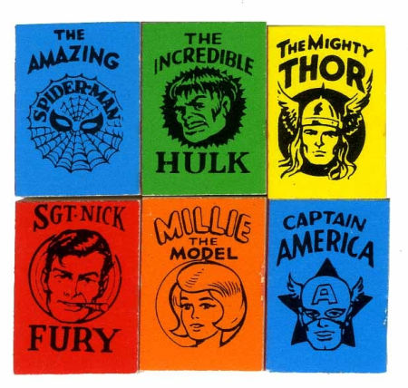 Marvel mini books