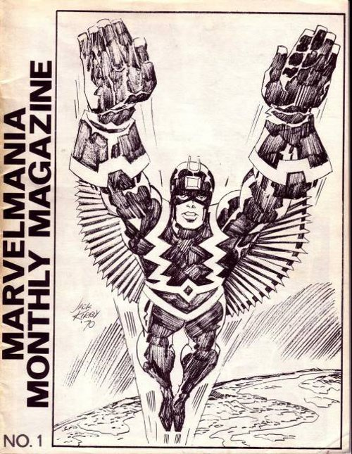 Marvelmania second # 1