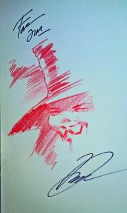 Sketch by David Lloyd