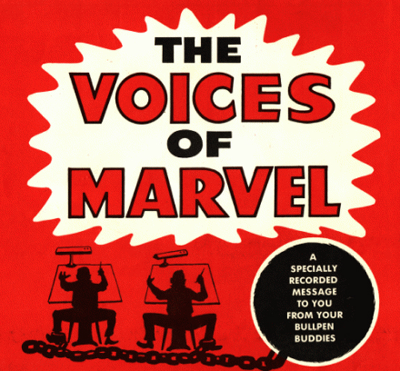 Voices of Marvel cover