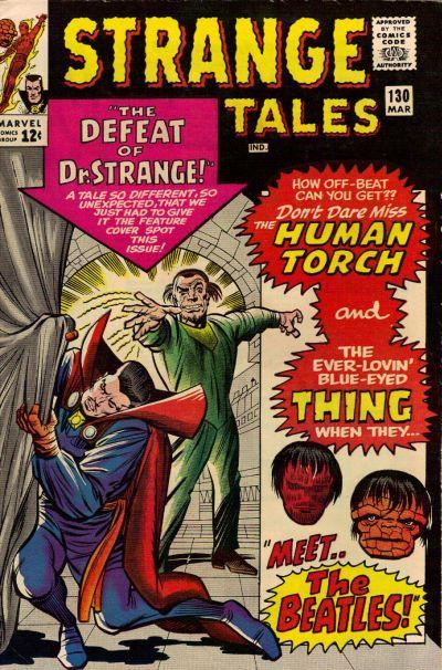 Strange Tales # 130  March 1965