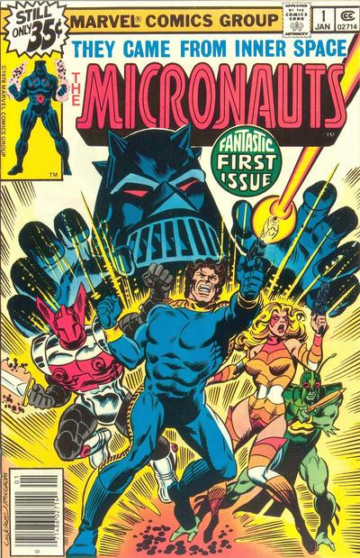 Micronauts # 1