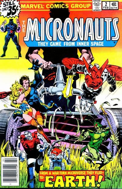 Micronauts # 2