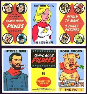 Comic Book Foldees # 16