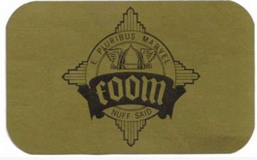 FOOM card front