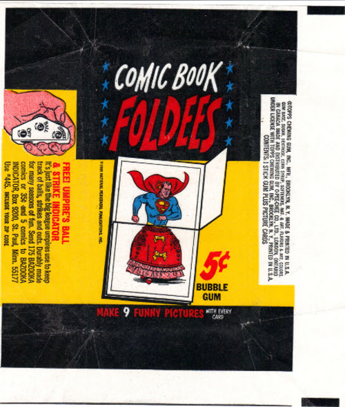1966 Foldees Wrapper