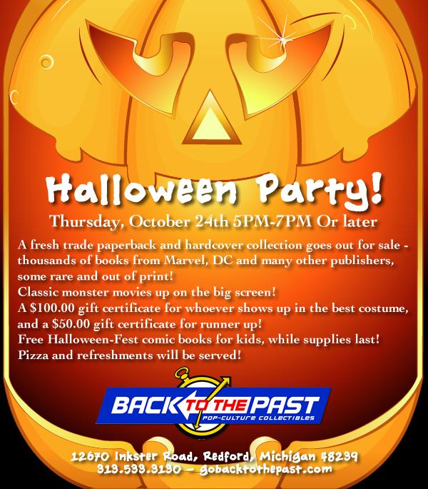 Halloween Party Pumpkin Flyer