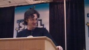 Jeff Smith presents a Shel Dorf award