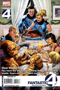 Fantastic Four #564. 2008