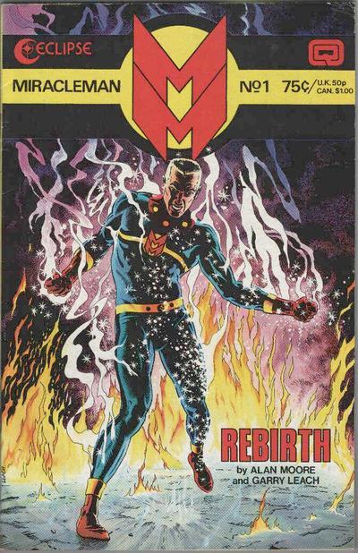 Miracleman # 1   August 1985