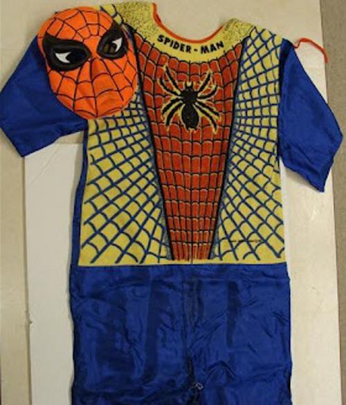 1963 Ben Cooper spidey costume