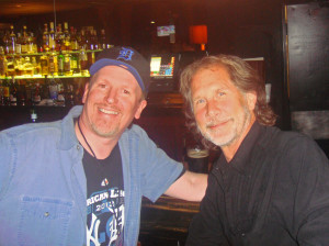 JJ chats with Parker Stevenson, but not to become a new Hardy Boy.