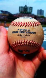 Brandon Inge Threw Me This Ball