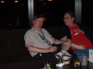 JJ and B2TP's own Dave Marchand at JJ's 50th b-day bash.