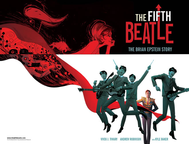 Fifth Beatle Wrap-around Cover