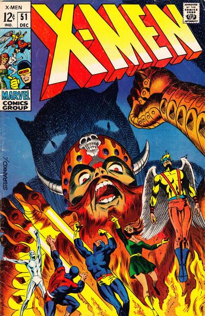 X - Men # 51   December 1968
