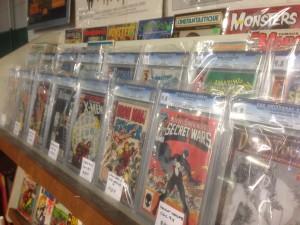 CGC Graded Comic Books