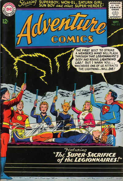 Adventure Comics # 312  September 1963