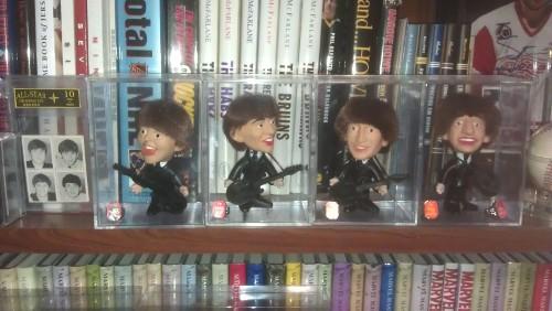 1964 Beatles dolls from Seltaeb.  (Yep, Beatles spelled backwards)