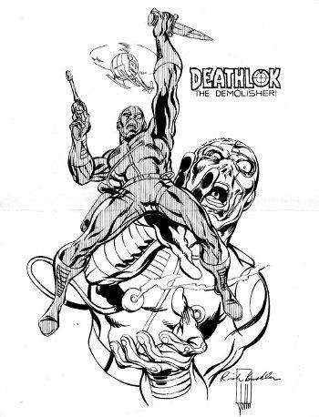 Deathlok by Rich Buckler