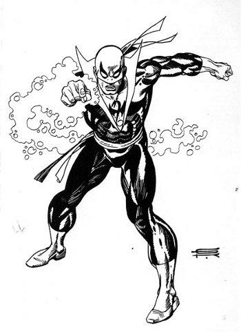 Iron Fist by Gil Kane