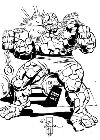 The Thing by Rich Buckler