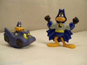 Bat Duck & Batmobile