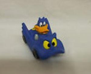 Bat Duck in the Batmobile