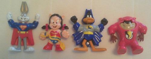 1991 Super Warner Characters