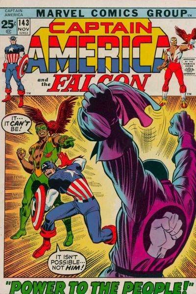 Captain America # 143   Nov 1971
