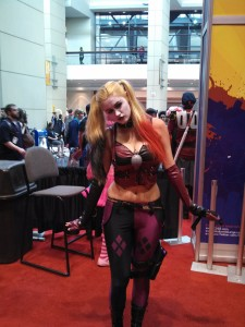 Harley Quinn was everywhere