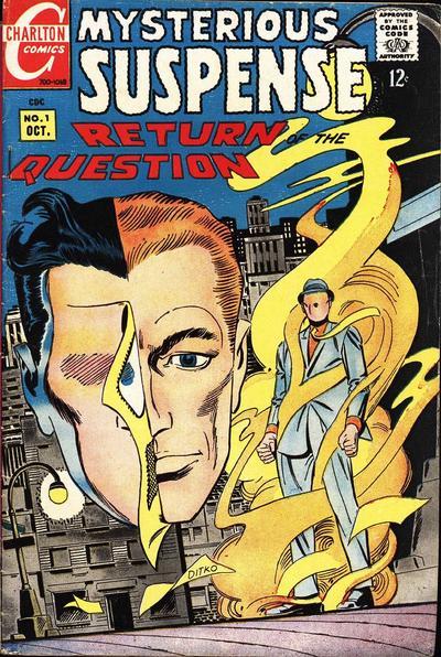 Mysterious Suspense # 1   Oct. 1968