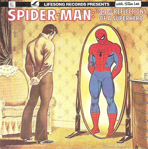 Spider-Man: Rock Reflections of a Superhero LP from 1975