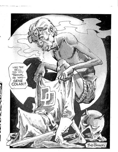 Daredevil by Bob Brown