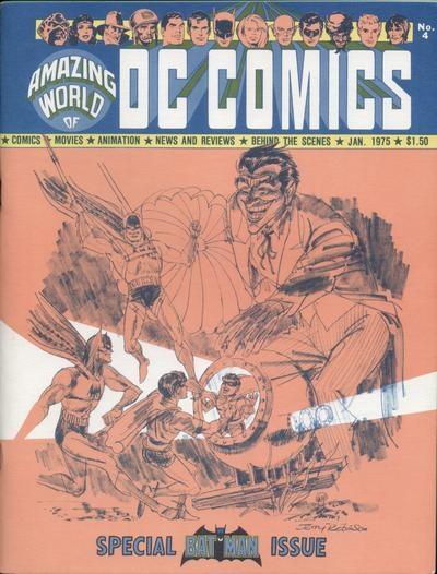 Amazing World of DC Comics # 4   January 1975