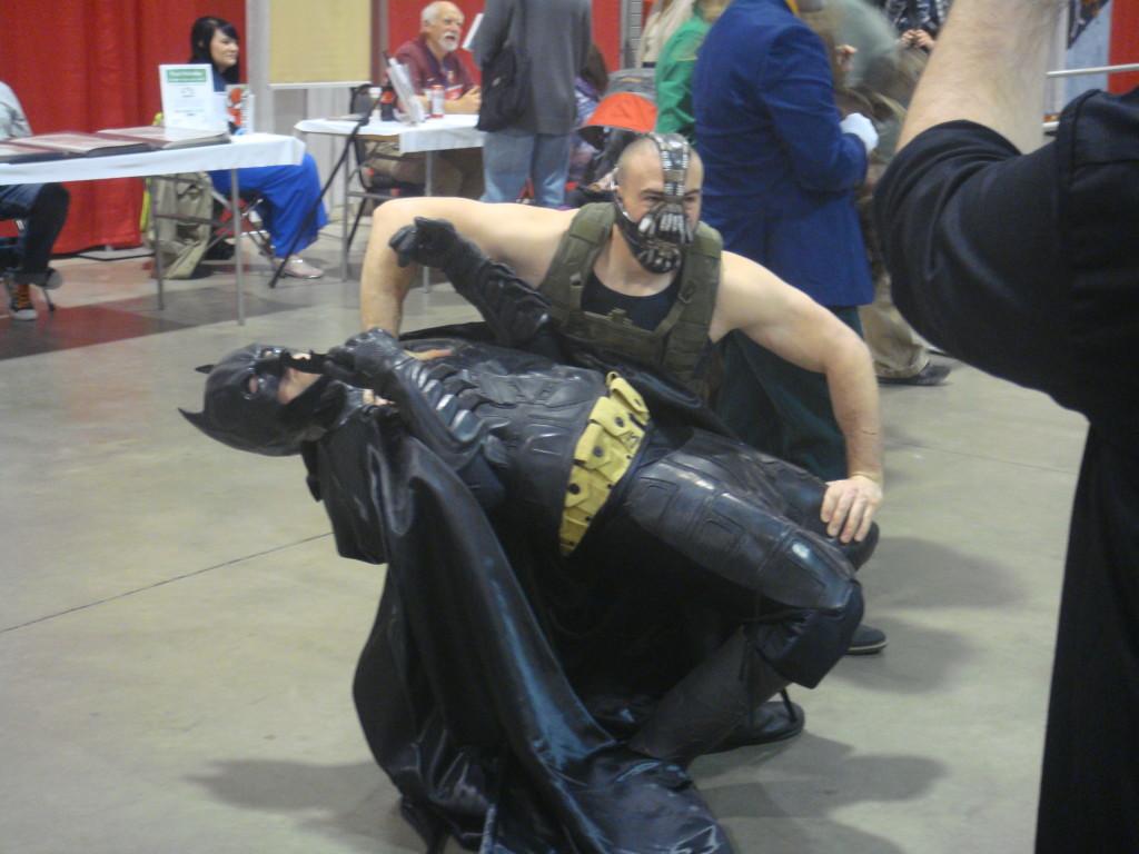 Bane Breaks The Bat