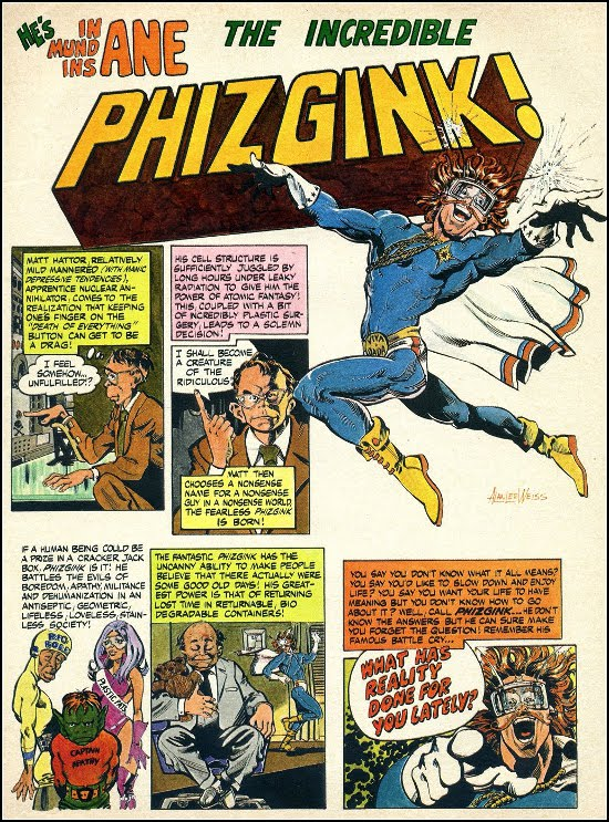 The Incredible Phizgink by Alan Weiss