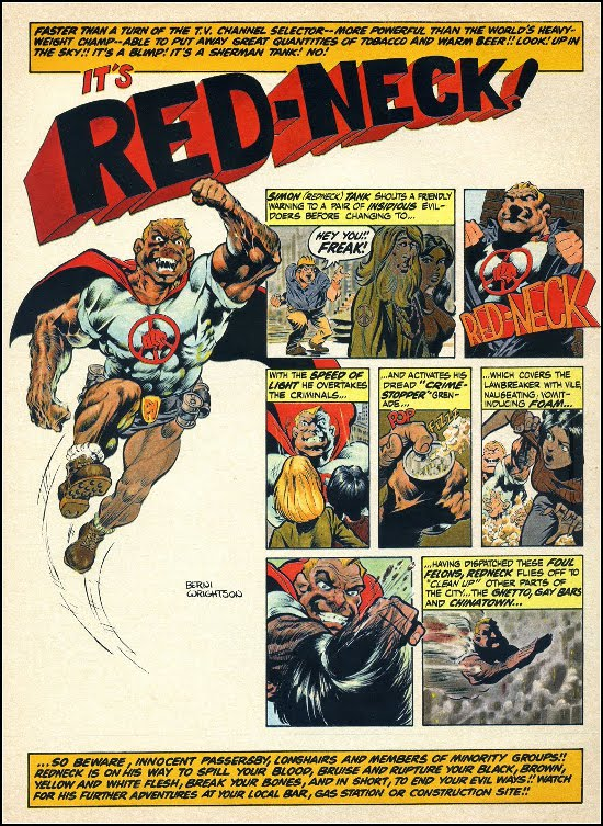 Red-Neck by Bernie Wrightson