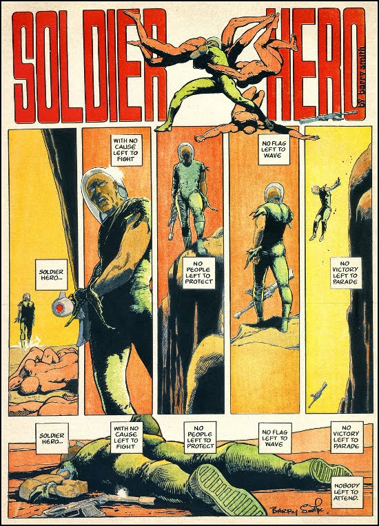 Soldier Hero by Barry Smith