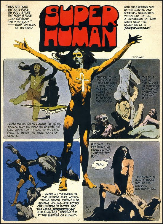 Super Human by Jeff Jones