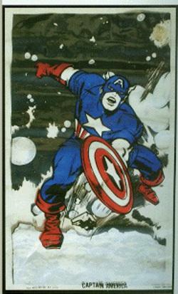 Captain America pillow 1969?