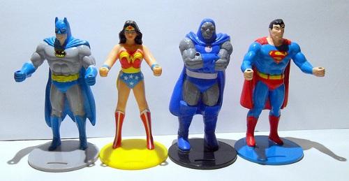DC - Burger King superhero cup holders