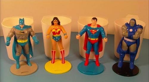 DC - Burger King superhero cups