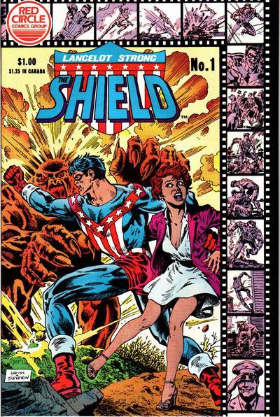 Lancelot Strong, The Shield # 1   June 1983