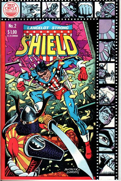 Lancelot Strong, The Shield # 2   August 1983