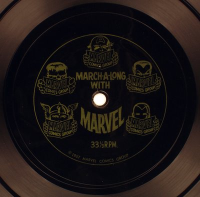 Scream Along with Marvel actual record
